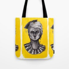 Seen in Yellow Tote Bag