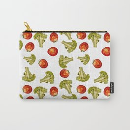 Broccoli and tomato Carry-All Pouch