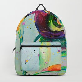 Snail Oilpainting Backpack