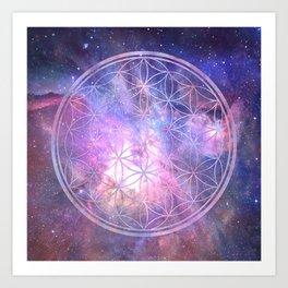 Sacred Geometry 9 Art Print