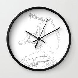 watching the show Wall Clock