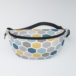 Simple Polygon Pattern Fanny Pack