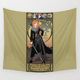 Sorsha Nouveau - Willow Wall Tapestry