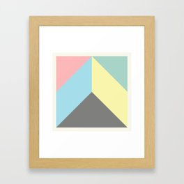Ultra Geometric VIII Framed Art Print