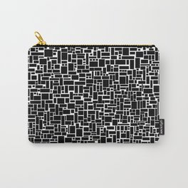 Black Blocks Rule Carry-All Pouch
