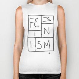 Intersectional Feminism Biker Tank