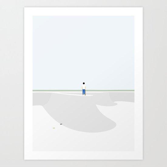 UDEN SKO Art Print