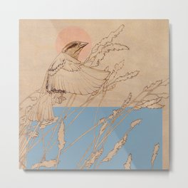 Myshkin Sparrow Metal Print