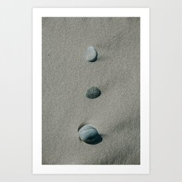 Three Stones Art Print