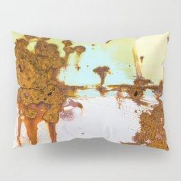 Rusting Panels Pillow Sham