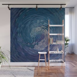 Fall Into Me - Abstract Art by Fluid Nature Wall Mural