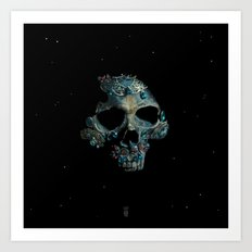 Holy Starman Skull Art Print