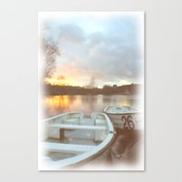 water colour Canvas Prints featuring Water colour  by Doug McRae