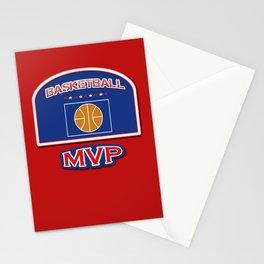 MVP Basketball board Stationery Cards