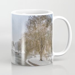Boston Garden- winter lake Coffee Mug