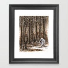 Bird from Sudan Framed Art Print