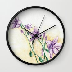 Campanula Wall Clock