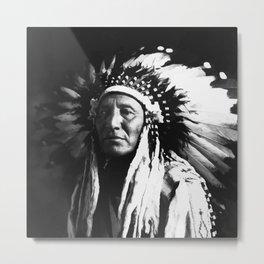 Chief Metal Print