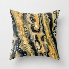 Leopard Jasper Throw Pillow