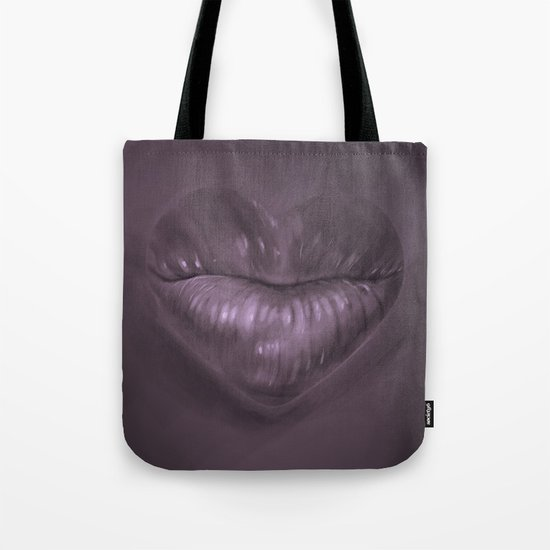 a kiss goodnight Tote Bag