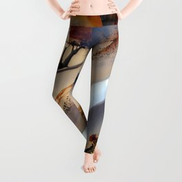 Agate Abstract 1733 Leggings