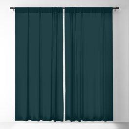 Midnight Teal  Blackout Curtain