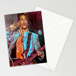 Purple Funk Stationery Cards