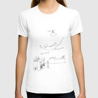 lipstick T-shirts featuring LipStick by PileOfTears (Lorelei Ramirez)