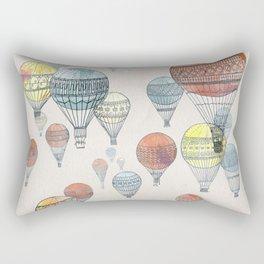 Voyages Hot Air Balloons Rectangular Pillow