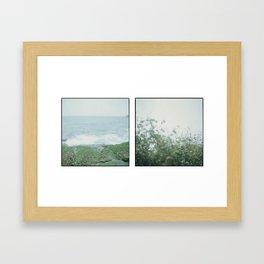 Shek-O Magical Place - 天崖海角 corners of the sea Framed Art Print