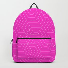 Razzle dazzle rose - pink - Modern Vector Seamless Pattern Backpack
