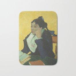 Portrait of Madame Ginoux Bath Mat