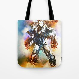 Battle Tested (War Machine) Tote Bag