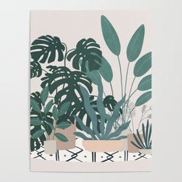 houseplant gang Poster