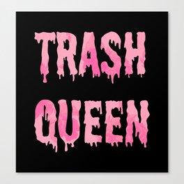 Trash Queen Canvas Print