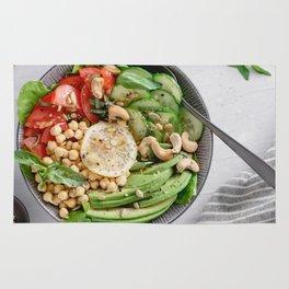 Healthy lunch bowl Rug
