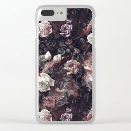 EXOTIC GARDEN - NIGHT III Clear iPhone Case