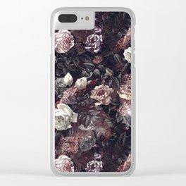 EXOTIC GARDEN - NIGHT III Clear iPhone Case