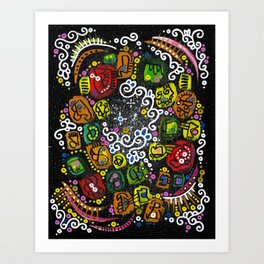 """gasoline"" Art Print"