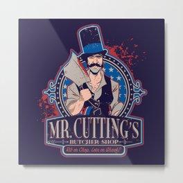 Mr. Cutting's Butcher Shop Metal Print