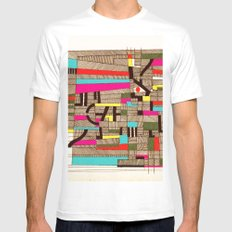 - architecture#02 - Mens Fitted Tee MEDIUM White