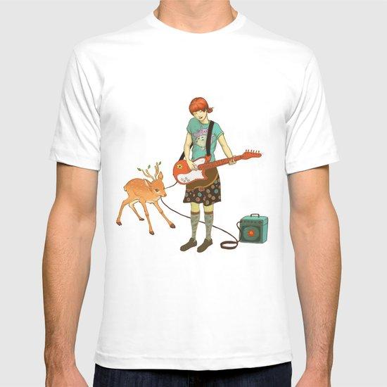 Guitar Fawn T-shirt