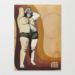 "Jek ""Piggy"" Porkins Canvas Print"