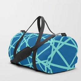 Lazer Dance Blue Duffle Bag