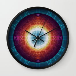 Akashic Fields Wall Clock