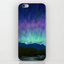 Arctic Aura - Painting iPhone Skin
