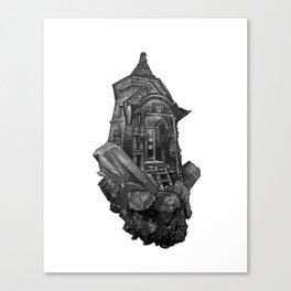 Selenite Lighthouse Canvas Print