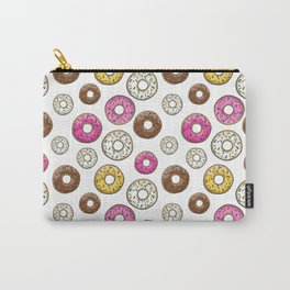 Abs Are Cool But Have You Tried Donuts - Light Carry-All Pouch