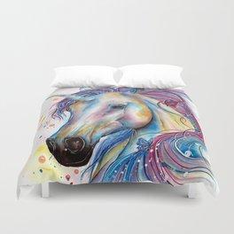 Whimsical Unicorn Duvet Cover