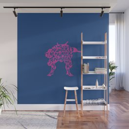 Dva type illustration Wall Mural